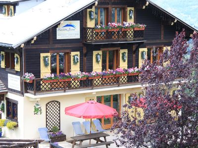 Photo for Ski in, ski out chalet with hot tub & sauna, pool in summer