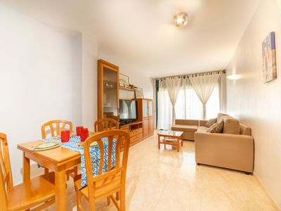 Photo for Beautiful apartment for 4 people with A/C, WIFI, TV and balcony