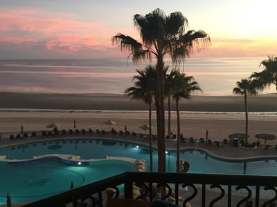 Photo for Ocean Front  Luxury  Condo  At The Sonoran Sea Resort on Sandy Beach