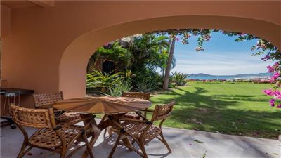 Photo for Charming ground-floor condo ideal for a getaway by the ocean