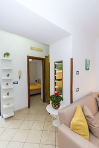 Photo for INDEPENDENT APARTMENT only 2. 5kg from SORRENTO site in SANT AGNELLO