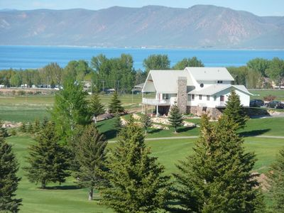 Photo for Spacious Lake House with Panoramic View of Lake, Mountain and Golf Course