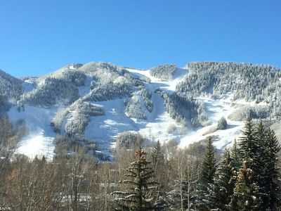 Photo for BEST DEAL IN ASPEN - PERFECT LOCATION  & VIEWS LUXURY CONDO - 3 BR/3BA