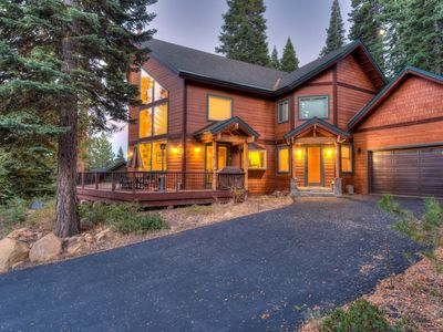 Photo for Luxury Donner Getaway w/ BBQ Deck, Shared Pool and Golf