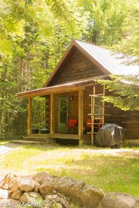 Photo for Yr. round, Pet Friendly, cozy cabin offering rustic elegance & full amenities