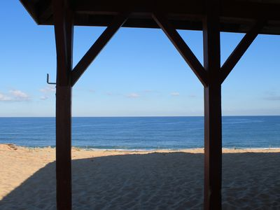 Photo for VILLA on the dune facing the ocean
