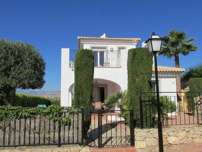 Photo for 4 Bed, 3 bath 'Executive' Villa sleeping up to 8 with private pool and wi-fi