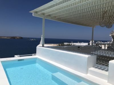 Photo for Thea Villas 3, Breathtaking  View to the Sea&Sunset, private pool