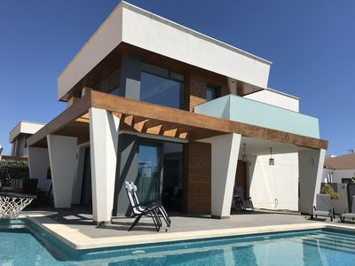 Photo for Newly built luxury Villa minutes from the beach !