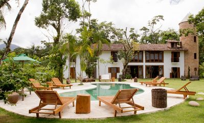 Photo for Estalagem Camburi | Charming and cozy Villa | 9 Suites w/ air-conditioning