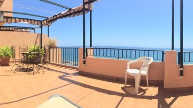 Photo for Penthouse at the beach, FREE WIFI, panoramic views, Costa del Sol