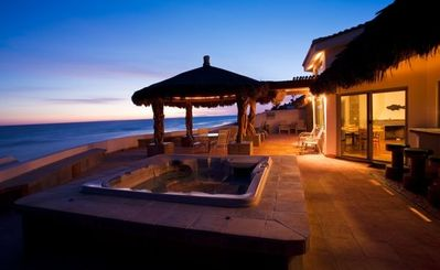 Photo for Beach Front Luxury Living & Spectacular Deck with Heated Spa