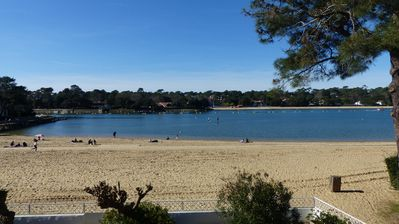 Photo for Remarkable sight on the lake and its beach in the center of Hossegor