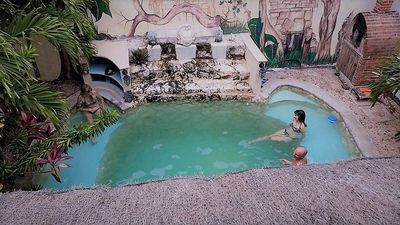 Photo for Tulum House with Cenote-style pool