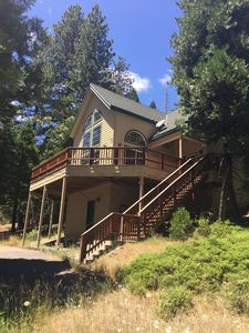 Photo for Spacious, Sunny, Serene Cabin In Cold Springs With Three King Beds