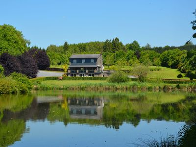 Photo for Comfortable cottage in the heart of a beautiful natural area with private ponds