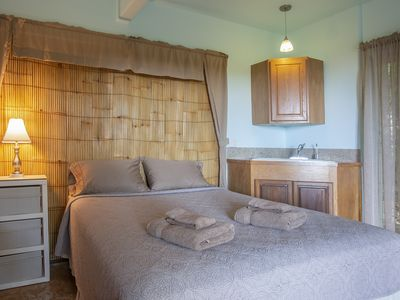 Photo for PRIVATE PARADISE - Your cozy garden room with ocean view - GARDEN ROOM 3