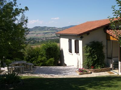 Photo for Usson, tranquil and quiet town, rent comfortable house, beautiful views.