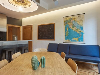 "Photo for Apartment ""Spinetta Malaspina Verona"" large 3-bdr 3 bath, 5min from pedestrian"