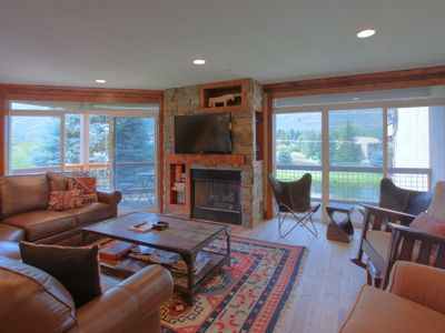 Photo for 5 Bedroom Luxurious Condo with Ski Slope Views. Great Location