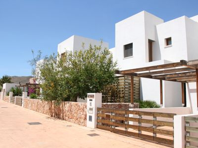 Photo for HOUSE WITH GARDEN FOR 6 PEOPLE IN NATURAL PARK FULL OF CABO DE GATA