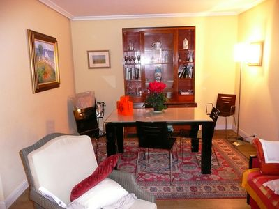 Photo for Comfortable 2 bedroom apartment downtown, beach, train station, thalass, harbor.