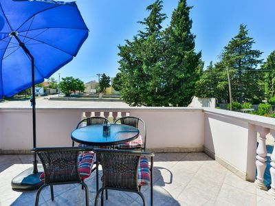 Photo for Two bedroom apartment with terrace Zadar (A-18098-a)