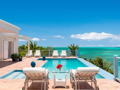 Photo for Reef Tides - An Oceanfront Luxury Family Vacation Villa in a Tropical Paradise