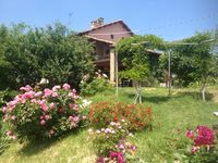 A spacious and well equipped house in beautiful Piedmont countryside.