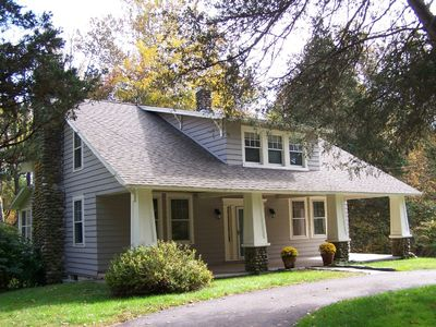 Spacious Arts and Crafts home on 7 acres in High Falls