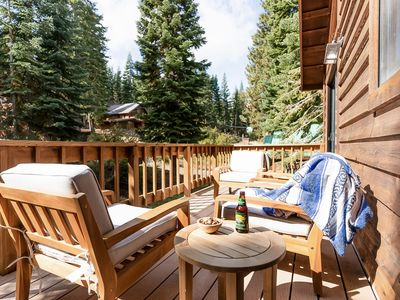Photo for Charming Truckee Cabin w/  Prvt Sauna, Spa, and Patio | Close to Donner Lake ❤ by AvantStay