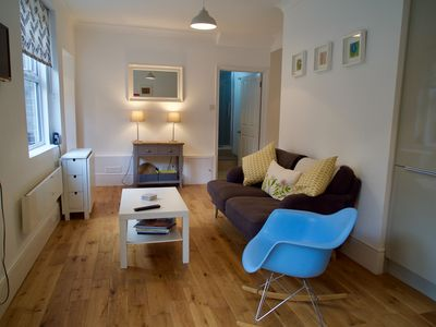 Photo for A compact & contemporary ground floor apartment 5 minute walk from seafront