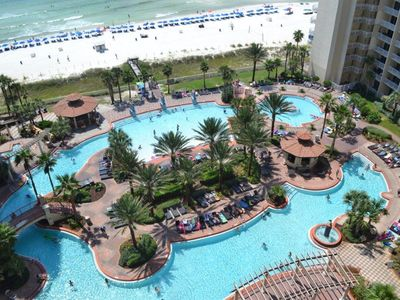 Photo for Breathtaking gulf and pool views . Reserved parking  Sleeps 8