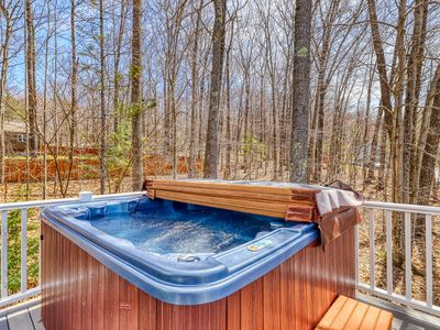 Photo for NEW LISTING! Spacious home w/ private hot tub, mountain views! Near skiing