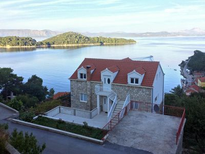 Photo for Apartment in Sobra (Mljet), capacity 6+1
