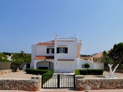 Photo for Quality Villa with Private Pool and Sea Views in Santa Ana, Es Castell, Menorca