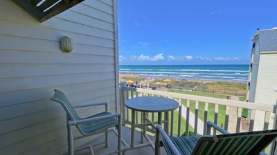 Photo for HEAR THE WAVES! 3 BEACHFRONT balconies. Bahia Mar.  WIFI, PET friendly!