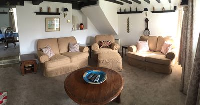 Comfy Cosy Sitting Room Panoramic