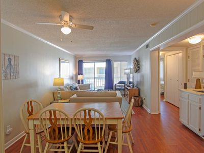 Photo for Beautifully decorated beach condo in downtown Isle of Palms