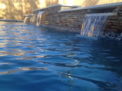 Photo for Walk to Kyle Field!  Pool and spa! Outdoor area with gas grill & big screen TV!