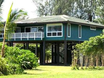 Photo for Hale Koaniani - a 3br/2.5ba beach front home in Haena