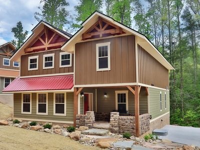 Photo for If you have been searching for the perfect cabin for your Smoky Mountain Getaway, then Hill Top Hideaway is the perfect cabin for you!