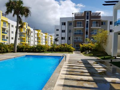 Photo for Beautiful 3Bd Condo W/ Pool View, Wifi & Cable