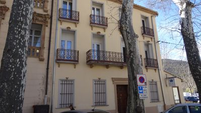 Photo for Flat T3 full historical center of CERET - clear view -