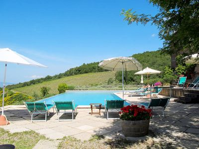Photo for Apartment Podere Cellole  in Castellina in Chianti, Siena and surroundings - 4 persons, 2 bedrooms