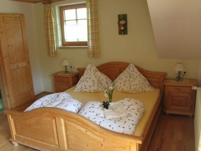 """Photo for Double room """"the spring"""" with shower, WC - Ferienhof Singerskogel"""