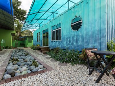 Photo for *BRAND NEW* Home Sweet Shipping Container! (BLUE)