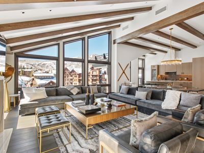 Photo for The Ultimate Ski-In/Ski-Out Penthouse/Residence in Snowmass Base Village!