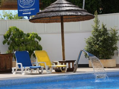 Photo for T-1 Praia da Rocha with Pool and Garage - 100m from the beach