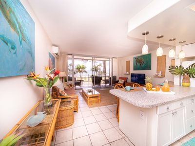 Photo for LAST MINUTE OPENING! Beachy-Chic and Beautiful Views! Island Surf 409